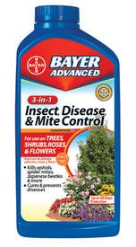 Bayer Advanced 3-in-1 Insect Disease & Mite Control Concentrate 32oz