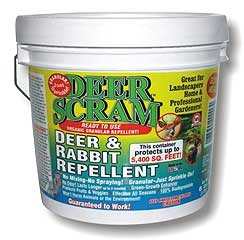 Deer Scram Deer And Rabbit Repellent 6lb