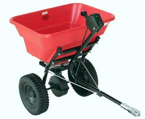 Earthway Deluxe Tow Broadcast Spreader 80lb