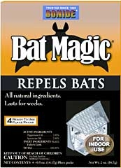 Bonide Bat Magic Repellent 4-pack