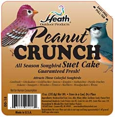 Heath Peanut Crunch Suet Cake 11oz