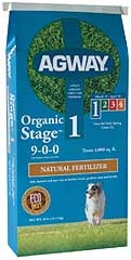 Agway Organic Stage 1 Natural Fertilizer 40lb