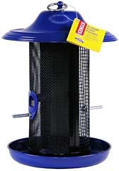 Stokes Cobalt Twin Bird Feeder