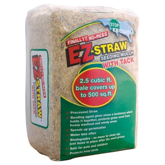 Rhino Seed Ez Straw Mulch With Tackifier