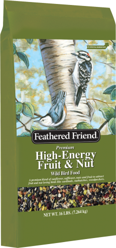 Feathered Friend® High-Energy™ Fruit & Nut Wild Bird Food (16#)
