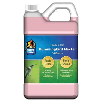 More Birds Hummingbird Nectar Ready To Use 64 Oz