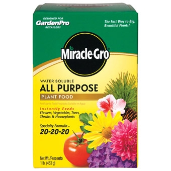 Garden Pro Miracle Gro Plant Food 1 Lb