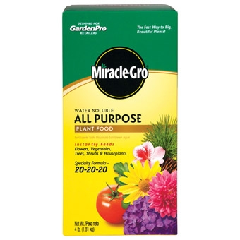 Garden Pro Miracle Gro Plant Food 4 Lb
