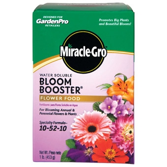 Garden Pro Miracle Gro Bloom Booster Plant Food 1 Lb
