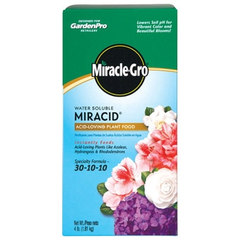 Garden Pro Miracle Gro Miracid Plant Food 4 Lb
