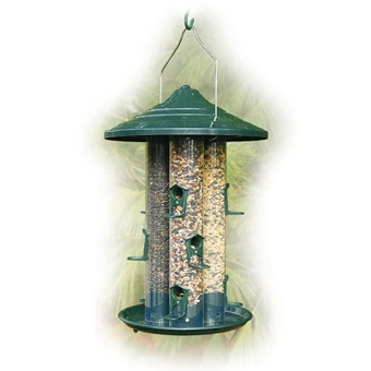 Woodlink Triple Tube Seed Bird Feeder