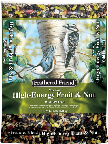 Feathered Friend® High-Energy™ Fruit & Nut Wild Bird Food (4#)