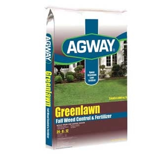 Agway Greenlawn Fall Weed Control & Fertilizer 24-0-12 5m