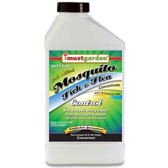 I Must Garden All Natural Mosquito, Tick & Flea Control Concentrate 32 Oz