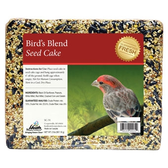 Heath Birds Blend Seed Cake 2 Lb