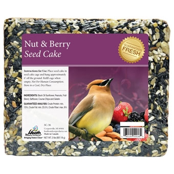 Heath Nut & Berry Seed Cake 2 Lb