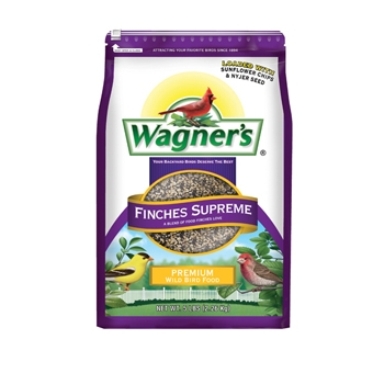 Wagner's Finches Supreme Premium Wild Bird Food 5 Lb