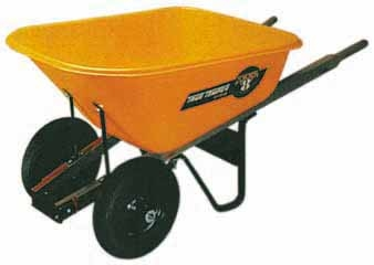 Ames True Temper 2-wheel Wheelbarrow 8 Cuft