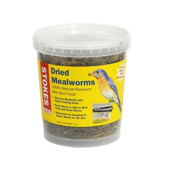 Stokes Select Dried Mealworms 7 Oz