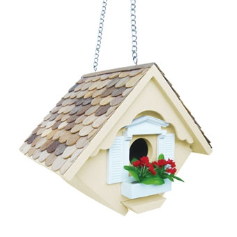 Home Bazaar Little Wren Birdhouse Yellow