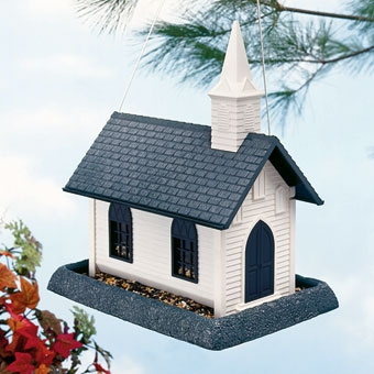North States Church Birdfeeder White Large