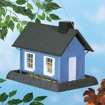 North States Cottage Birdfeeder Blue Large