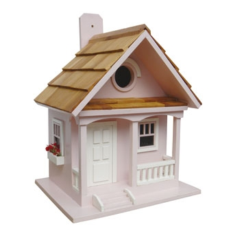 Home Bazaar Cotton Candy Cottage Birdhouse