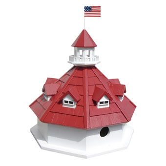 Home Bazaar Annapolis Lighthouse Birdhouse