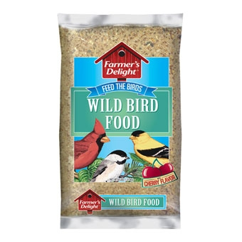 Wagner's Farmer's Delight Wild Bird Food Cherry Flavor 4 Lb