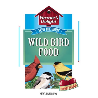 Wagner's Farmer's Delight Wild Bird Food Cherry Flavor 20 Lb