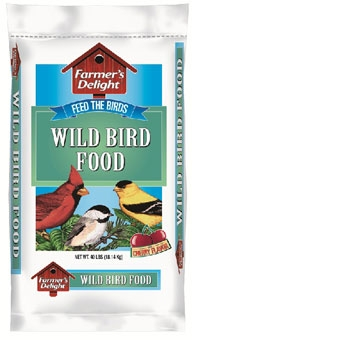 Wagner's Farmer's Delight Wild Bird Food Cherry Flavor 40 Lb
