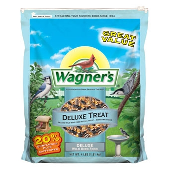 Wagner's Deluxe Treat Wild Bird Food 4 Lb