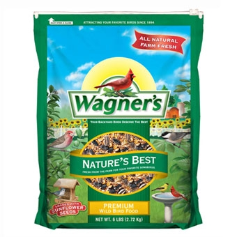 Wagner's Nature's Best Premium Wild Bird Food 6 Lb