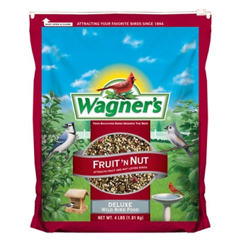 Wagner's Fruit 'n Nut Deluxe Wild Bird Food 4 Lb