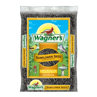 Wagner's 100% Black Oil Sunflower Seed 5 Lb
