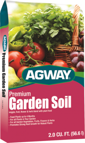 Agway® Premium Garden Soil (2 Cubic Foot Bag)