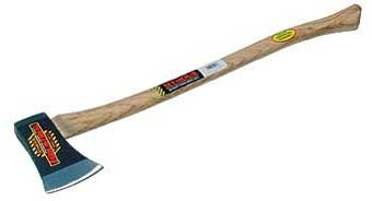 Axe With Wood Handle 3.5 Lb
