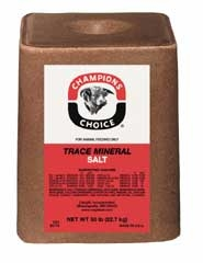 Champions Choice Tm Salt Block 50lb