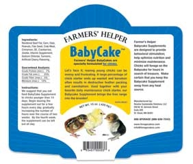 Farmers Helper Baby Cake
