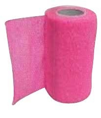Wrap It Up Bandage Hot Pink 4in X 5yrds