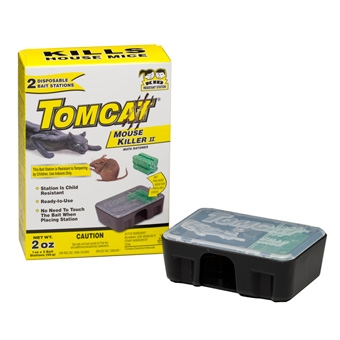 Tomcat Disposable Bait Station With Bait 2 Pk