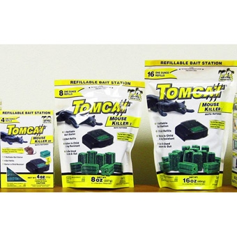 Tomcat Mouse Killer I Bait Station With 16 Refills
