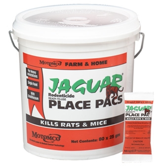 Jaguar Place Pacs Kills Rats & Mice 73 Ct