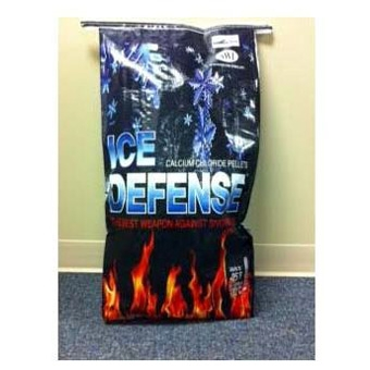 Ice Defense Calcium Chloride Pellet 50 Lb