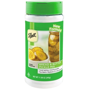 Ball Bread & Butter Pickle Mix 12 Oz