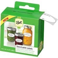 Ball® Dissolvable Canning Jar Labels (60/Box)