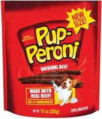 Pup-peroni Beef Dog Snacks 10oz