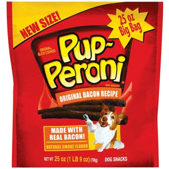 Pup-peroni Original Bacon Dog Snacks 25oz