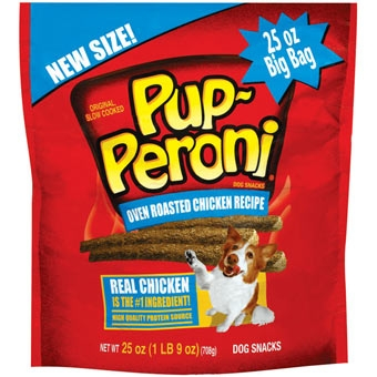 Pup-peroni Roasted Chicken Dog Snacks 25oz