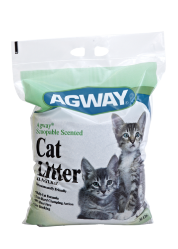 Agway Scoopable Scented Cat Litter All Natural 30lb